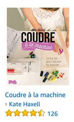 Coudre à la machine Broché par Kate Haxell