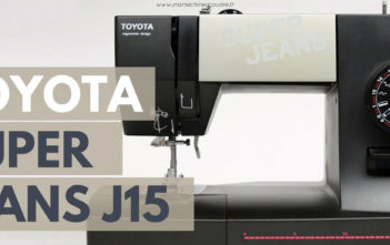 Machine à coudre Toyota Super Juans J15