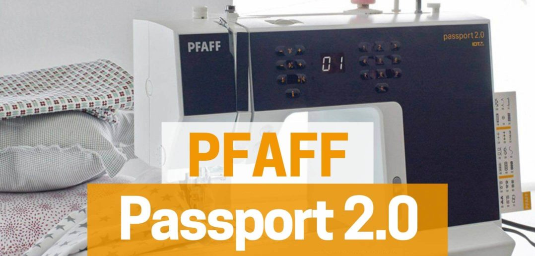 Test de la Pfaff Passport 2.0
